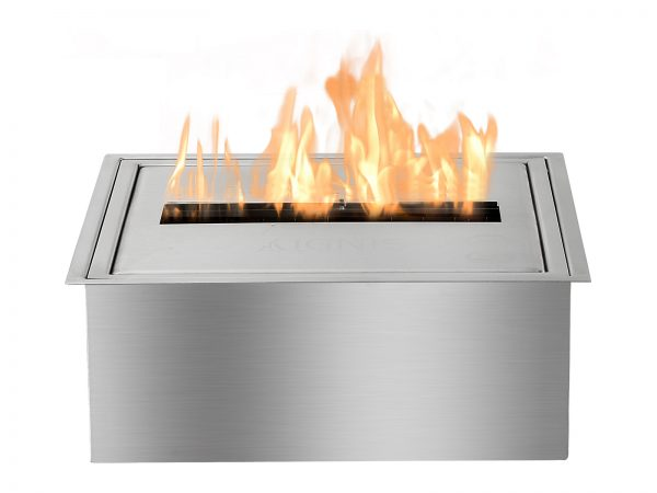 EB1212 Ethanol Fireplace Burner Insert Front View