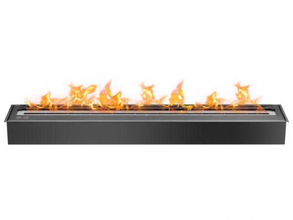 EB4800 Black Ethanol Fireplace Burner Insert - Front View