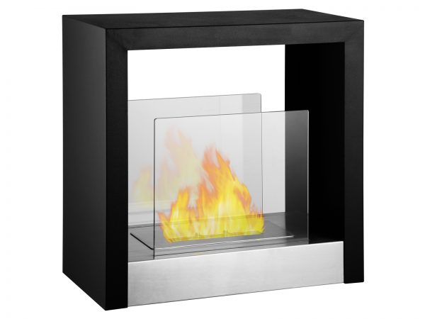 Tectum S - Freestanding Ethanol Fireplace