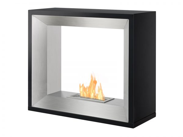 Tempo Freestanding Ethanol Fireplace