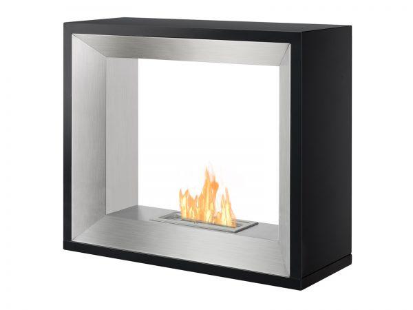 Tempo Freestanding Ethanol Fireplace