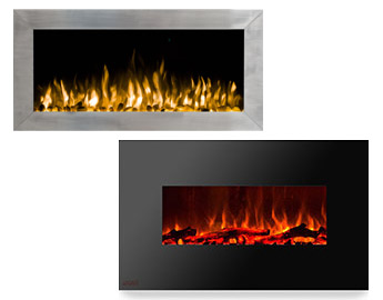 Ventless Electric Fireplaces